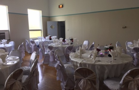 Wedding in the Social Hall